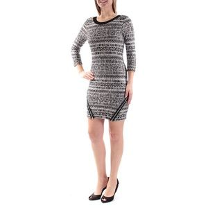 Trixxi crewneck sweater dress